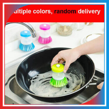 Kitchen Brush for Dish Pot Pan Sink Cleaning